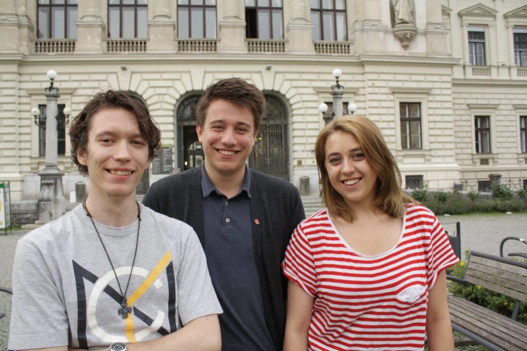 Vorsitz-Team, Michael Ortner, Kajetan Hoffmann, Anna Slama