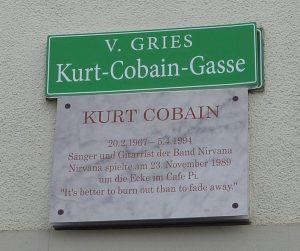 Eine Gasse namens Kurt